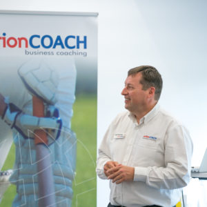 Rob Pickering and Action Coach banner
