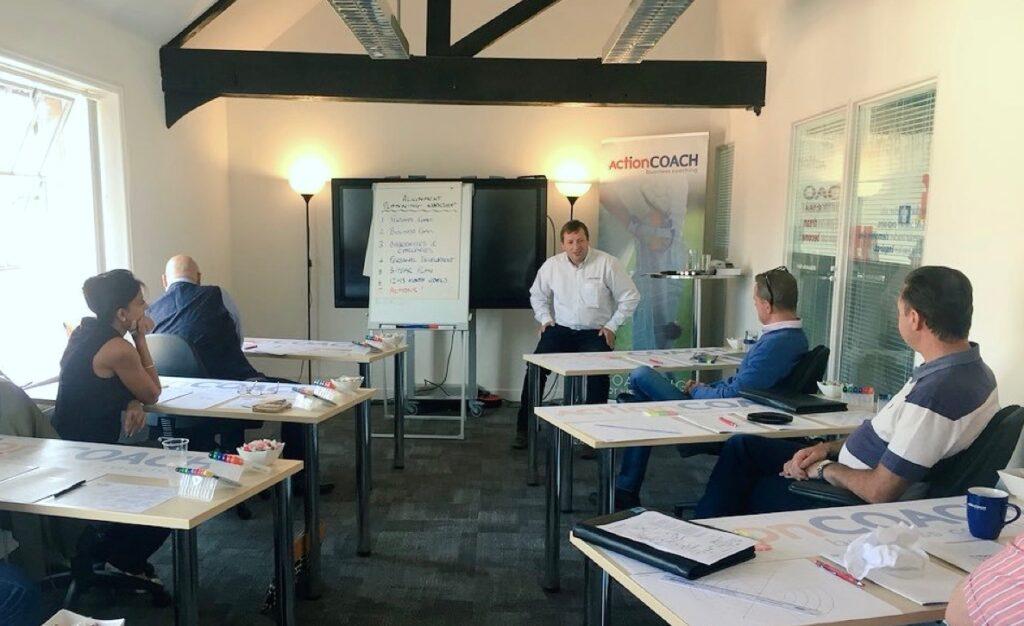 workshop at office in Goring