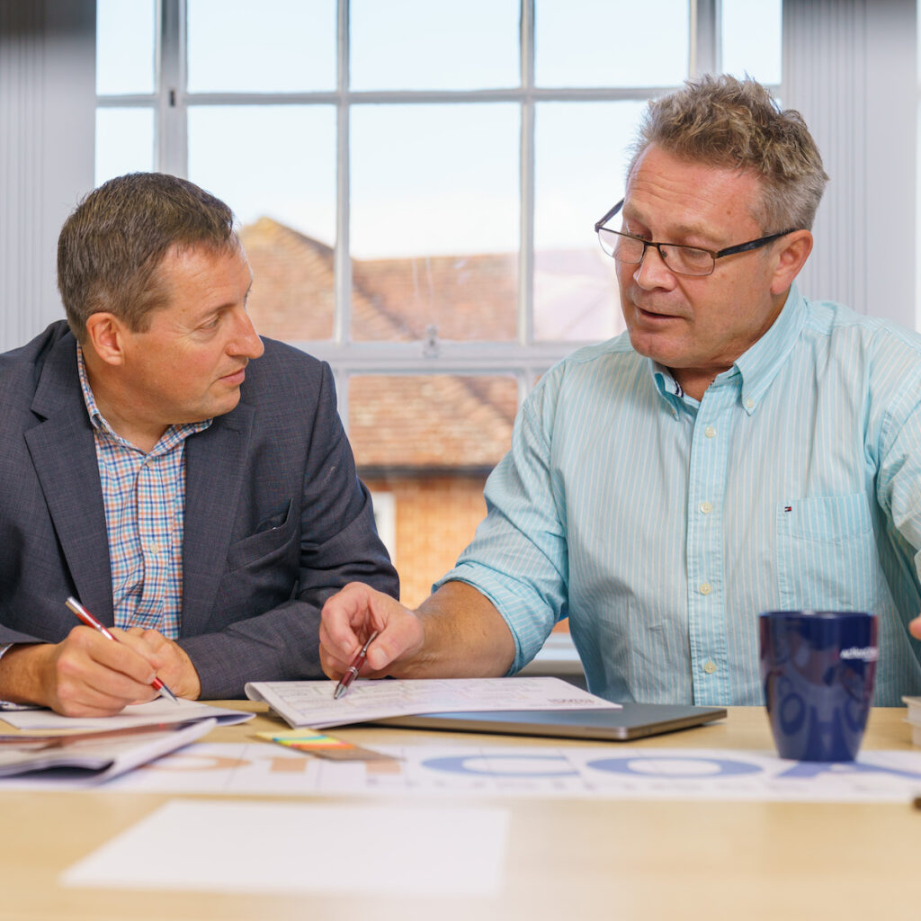 Executive Coaching with Rob Pickering and Doug Pudney, ActionCOACH Reading & Wokingham